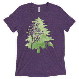 Woodland Greens // Tri-Blend T-shirt // Unisex